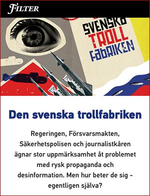 Den svenska trollfabriken - Filter
