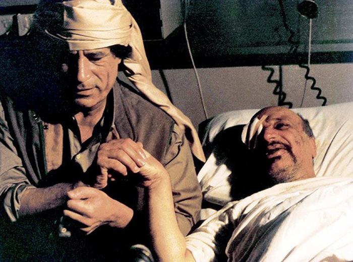 Gaddafi besöker Arafat,   1992 - Foto: Sipa Press (Sipa.com)