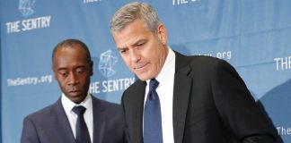 George Clooney och Don Cheadle - The Sentry - Foto: Bianca Saini, Nigrizia.it