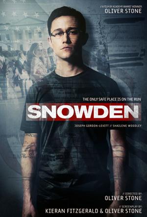 Filmaffisch: Snowden (2016) - Oliver Stone