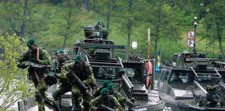 Försvarsmakten - pressfoto