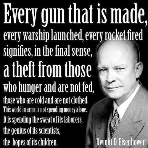 Dwight D Eisenhower quote