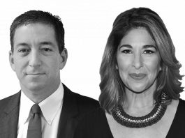 Glenn Greenwald och Naomi Klein - Källa: The Intercept