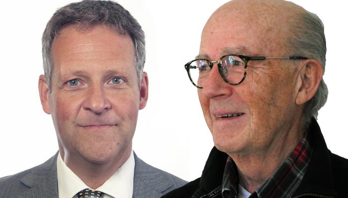 Riksdagsman Jan Ericson (M) och Lars Bern - Foto: Riksdagen ppressfoto resp. Torbjörn Sassersson