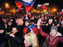 Folket på Krim vill bli en del av Ryssland