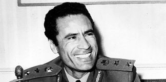 Muammar al Gaddafi, 1970 - Foto: Public domain