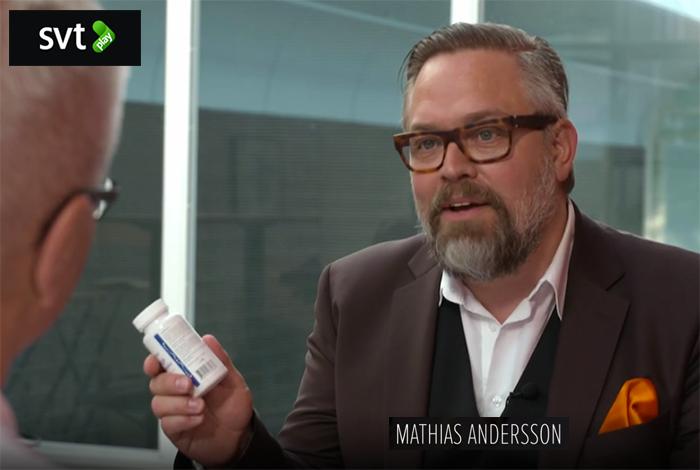 SVT Plus - Mathias Andersson - Skärmdump SVT Play