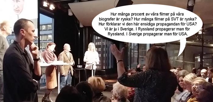 Debatt om rysk propaganda i Sverige - Kulturhuset Stockholm - Foto: NewsVoice
