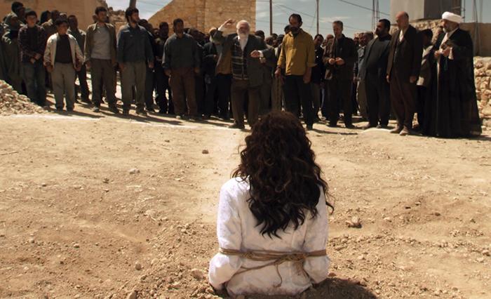 """Från filmen: """"The Stoning of Soraya"""""""