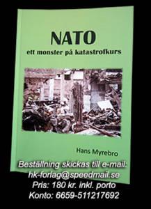 Annons: NATO - Ett monster på katastrofkurs, 2016, Hans Myrebo