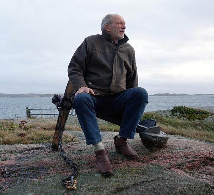 Hans G. Eriksson om innovationer - Foto: C. Rydin