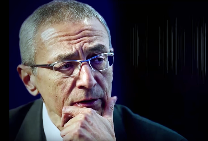 John Podesta - Bildruta från Empire Files, 2016