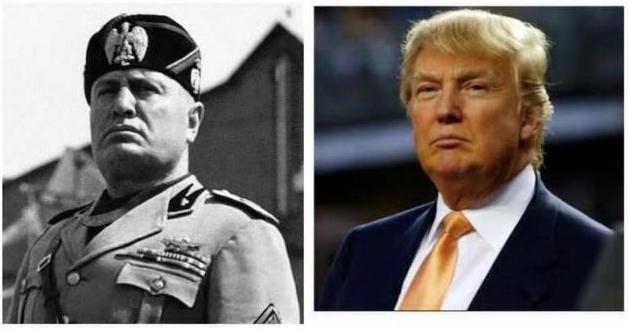 Mussolini - Trump