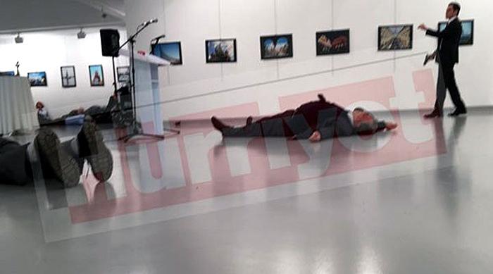 Andrey Karlov killed in Ankara
