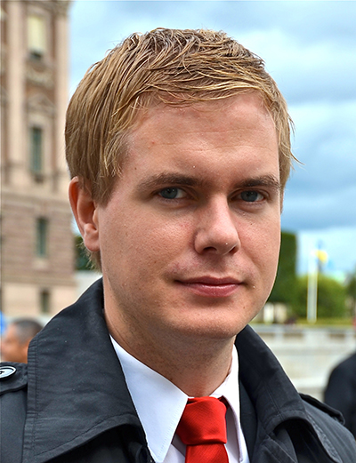 Gustav Fridolin (MP) - Foto: Wikipedia