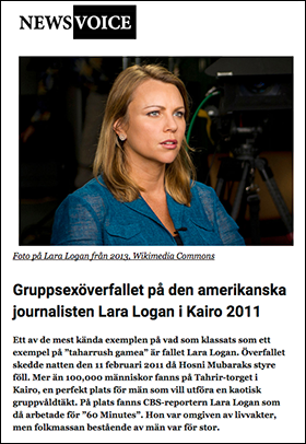 Journalisten: Lara Logan
