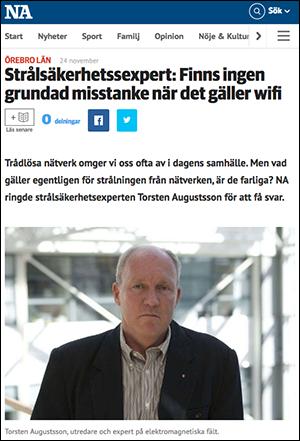 Torsten Augustsson från Strålsäkerhetsmyndigheten