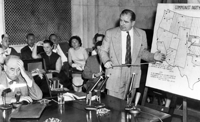 Joseph Welch och Joe McCarthy