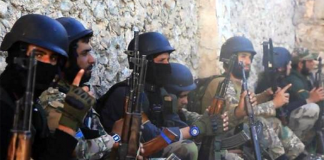 Al-Nusra-krigare - Foto: TV-kanal