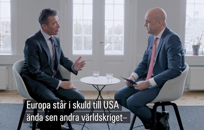 Anders Fogh Rasmussen och Fredrik Reinfeldt
