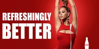 Beyonce gör reklam för Coca-Cola