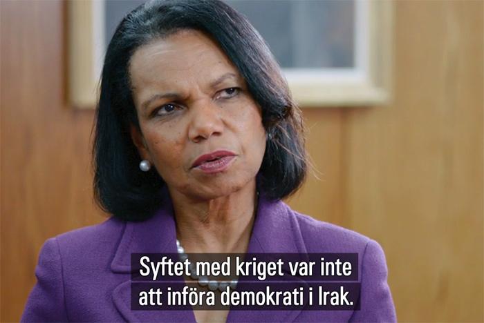 Condoleezza Rice, 2016 - Foto: SVT