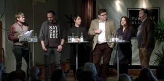Paneldebatt arrangerad av Publicistklubben