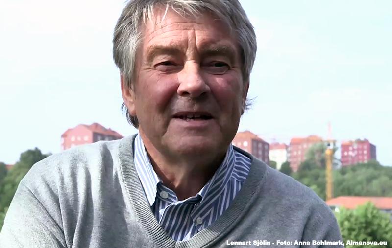Lennart Sjölin - Photo: Anna Böhlmark,   Almanova.eu
