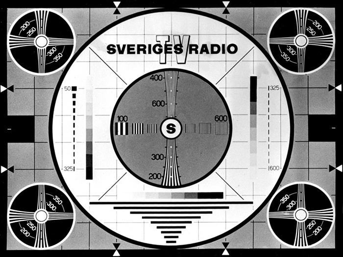 Public Service, Sveriges Radio, SVT, testbild
