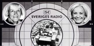 Sveriges Radio, testbild, retuscherad