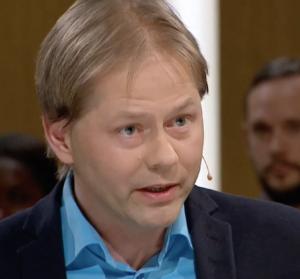 Anders Lindberg diskuterar Sverigebilden 23 feb 2017 - Foto: SVT Opinion