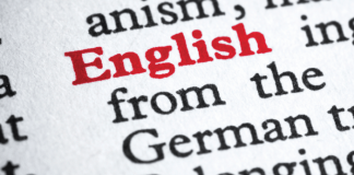 English language - engelska språket
