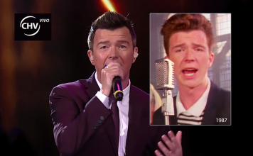 Rick Astley - Never Gonna Give You Up - Photos from 1987 and 2016