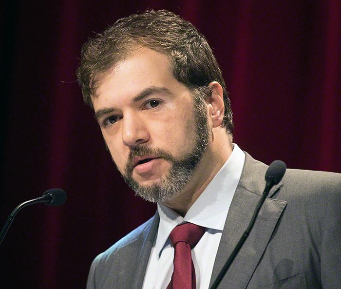 Tino Sanandaji diskuterar befolkningsökning - Foto: Tore Sætre,   Wikimedia Commons