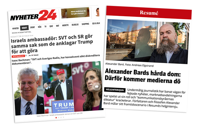 Buchman och Bard om svenskmedia 2017