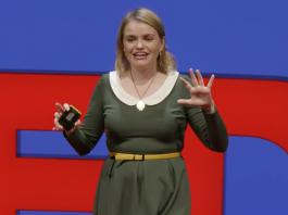 Carrie Poppy okt 2017 - Foto: TED.com