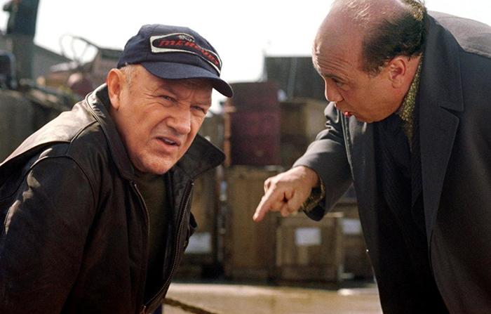 Gene Hackman och Dannny De Vito i Heist från 2001 - Foto: IMDB