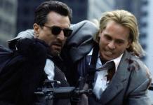 Robert De Niro och Val Kilmer i Heat från 1995 - Foto: Warner Bros.