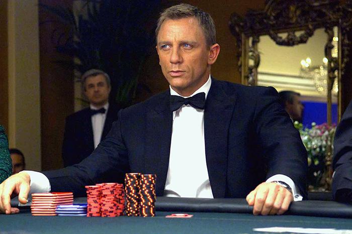 Daniel Craig alias James Bond i filmen Casino Royle