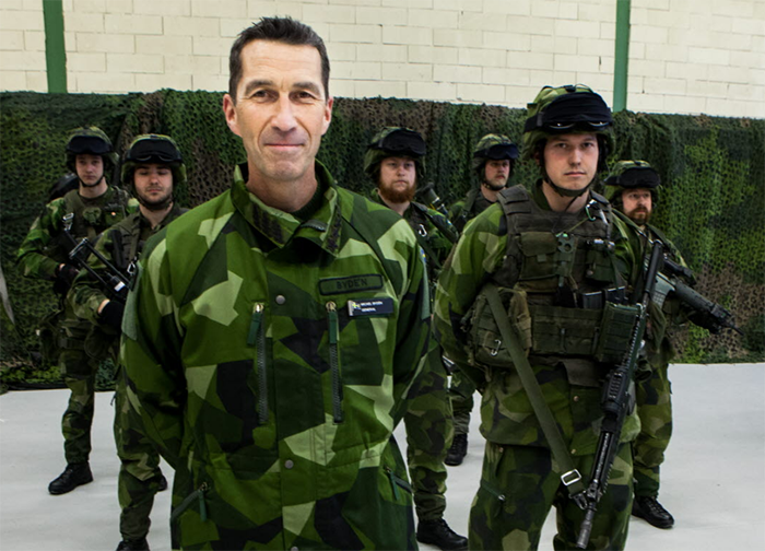 Bild: ÖB, Micael Bydén - Pressfoto: Försvarsmakten