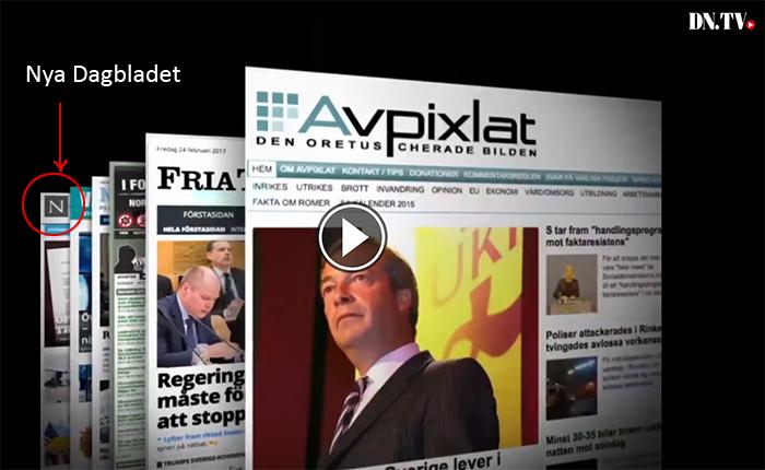 Nya Dagbladet felporträtterad av DN