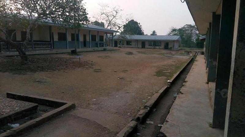 Empty school compound in Bamenda, 2017 - Photo: Cameroonconcordnews.com