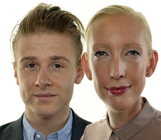 Sofia Arkelsten och Jesper Skalberg Karlsson - Pressfoton: Riksdagen