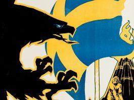 Svensk krigspropaganda 1941 artist Gunnar Widholm