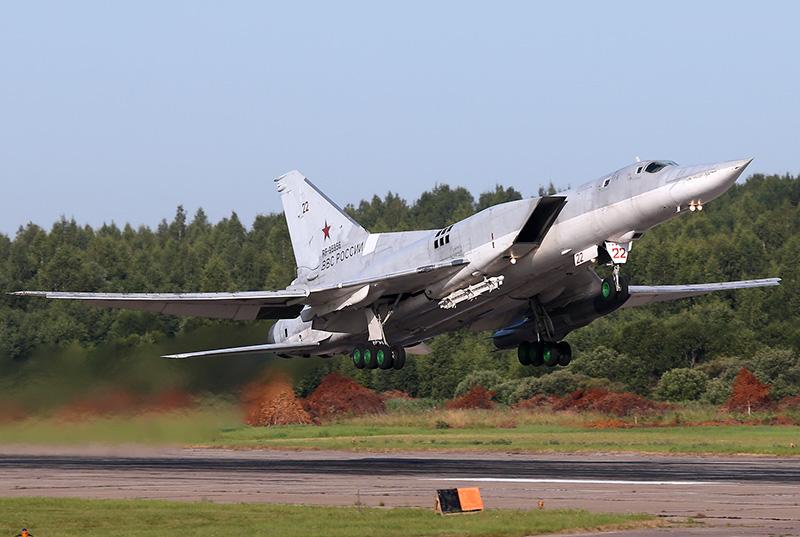 En rysk Tupolev Tu-22 M3 - Artikel om ryska spökplan - - Foto: Dmitriy Pichugin, Wikimedia Commons