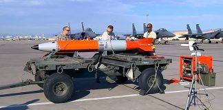 USA:s kärnvapenbomb B61 Model 12 - Foto: Phylicia Nordyke