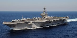 The aircraft carrier USS George H.W. Bush (Jan. 29, 2011)