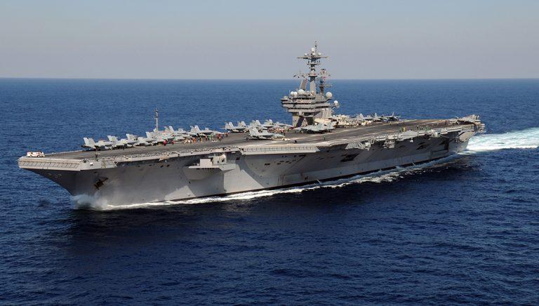 USA:s hangarfartyg tvingades vända 2014 – CIA började infiltrera Ukraina redan 1957