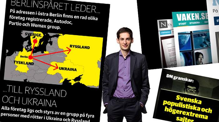 DN hänger ut en annonsör på Nya Dagbladet på grund av slaviskt ursprung