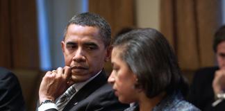 Barack Obama och säkerhetsrådgivare Susan Rice - Foto: Pete Souza (Petesouza.com), Vita Huset